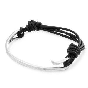 James Avery Charm Leather Bracelet